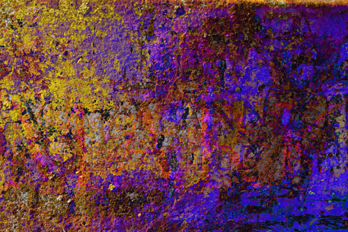 Mark, original abstract digital print by Trevor Heath