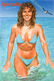 Aphrodite Summer 1984 painted by artist Trevor Heath