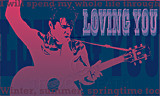 Loving You 1, a portrait of Elvis Presley painted by artist Trevor Heath