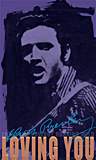 Loving You 2, a portrait of Elvis Presley painted by artist Trevor Heath