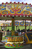 Fairground rides, Epsom Downs photographed by artist Trevor Heath