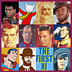 The First Eleven, an image created by pop artist Trevor Heath