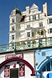 Fish and chips along the prom, Brighton photographed by artist Trevor Heath