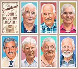Portraits of the Grandsons of John Doulton Heath