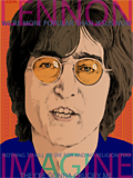 An original portrait print of John Lennon by pop artist Trevor Heath