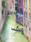 Ponte de le Pignate, Venice painted by artist Trevor Heath