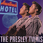 The Presley Twins, an image created by pop artist Trevor Heath