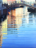Rise and fall, an oil painting of Venice by artist Trevor Heath