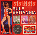 Rule Britannia, an image created by pop artist Trevor Heath