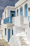 Houses on Sifnos photographed by artist Trevor Heath