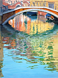 Colours of Venice, an oil painting of Venice by artist Trevor Heath